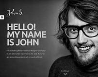 John - One Page Portfolio Theme