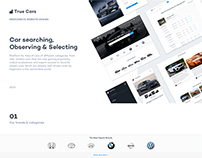 True Cars Website Design