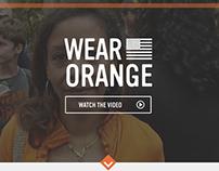 Everytown for Gun Safety Wear Orange Microsite