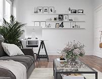 Solo roomin Scandinavian style