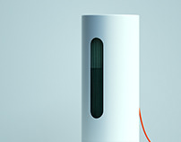Air humidifier concept