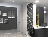 CHECK OUT THIS BEAUTIFUL BLACK ROOM DIVIDER SCREEN