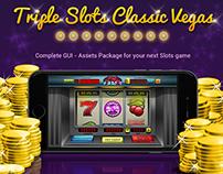 Triple Slots Classic Vegas GUI and Assets