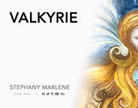 VALKYRIE | Watercolor Illustration