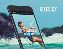 Kites / UI / UX / web design / shop