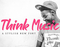FREE Think Music Script Font