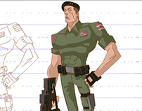 Commando Character Design