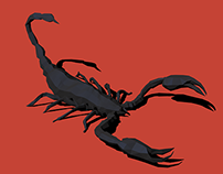 Low Poly Scorpion