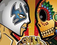 Animación: Día de Muertos en la Arena México