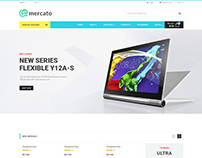Electronic Store Sectioned Shopify Theme - Emercato
