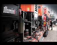 Illumin8 lights photo shoot for website images