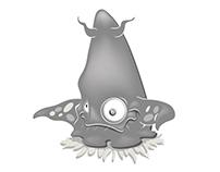 Vintage Alien Character Design/Render
