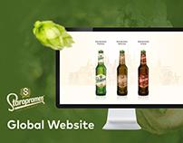 Staropramen Beer Website