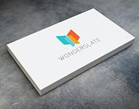 Wonderslate: Brand development and UI/UX Design