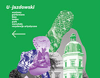 Poster-collage/U-jazdowski Centre for Contemporary Art