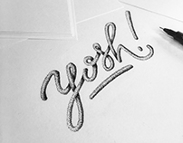 Lettering Explorations