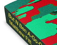 But N Ben A-Go-Go book cover illustration & design
