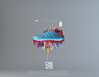 //CREATE-Visual Comm. Series //