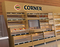 UNO Corner Stand Project