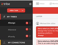 Tribe.do Web App Mockups