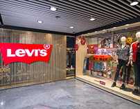 INTERIOR PHOTOGRAPHY FOR LEVI'S® STORE