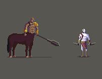 Centaur vs Kratos