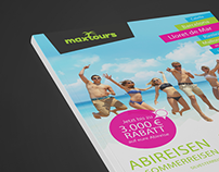 Maxtours – Editorial Design