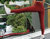 Leggings Mock-Up's Street Style