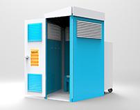 Porta-Go: A Flat-pack Portable Toilet