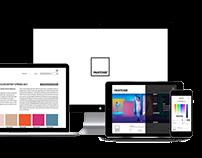 pantone website renewal