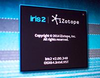 iZotope Iris 2 UI Design