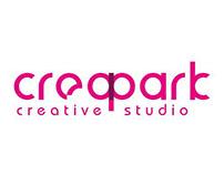 Creapark Creative Studio website tasarım çalışması