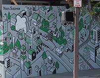 Salad Town Mural