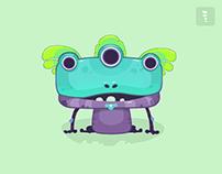 'Frogs' - Merge Battle Animation