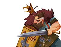 Verrix Board Game Characters