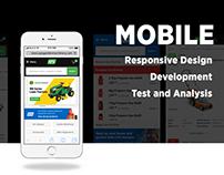 Mobile Design Phase of APS E-commerce Website