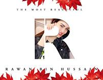 Rawan Bin Hussain® Letter Portrait