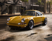 Porsche 911 CGI