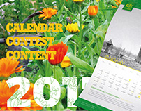 Wall Calendar and web campaign content for GAL