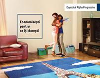 TVC for Alpha Progressive, deposit, Alpha Bank