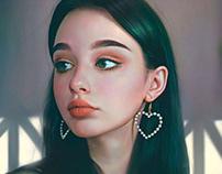 Painting Portrait Woman