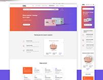 website, Logistic company