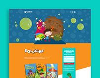 Giunti Editore - Bollicine website