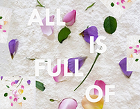 All is full of love print
