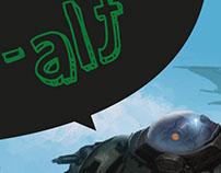 História Curta de BD para a Webzine H-ALT #4