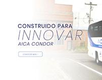 Carrocerías CONDOR (Landing Page)