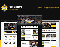 Gridiron | American Football & NFL Team WP Theme