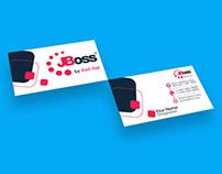 Business card design for JBoss community.