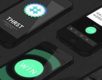 THRST – Interface Design & Concept