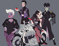 Disney Villains Motorcycle Club
